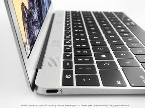 Ngắm concept chiếc MacBook Air kích thước 12 inch mà Apple sắp ra mắt-3