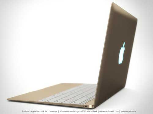 ngam concept chiec macbook air kich thuoc 12 inch ma apple sap ra mat - 5