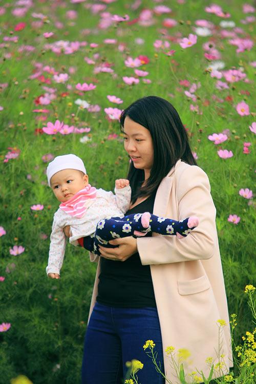 Đổ xô chụp ảnh tại thung lũng hoa Hồ Tây-10