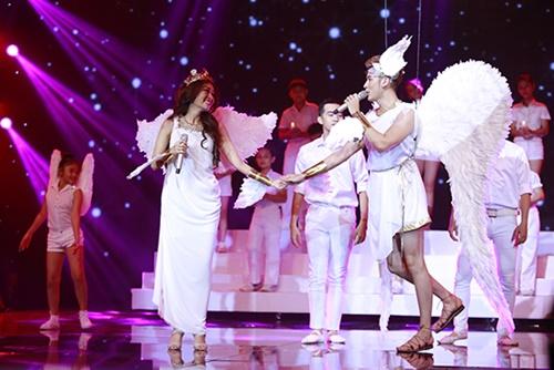 Hà Duy - Hoàng Yến đăng quang Cặp đôi hoàn hảo 2014-9