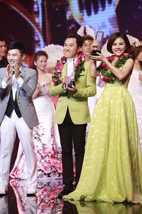Hà Duy - Hoàng Yến đăng quang Cặp đôi hoàn hảo 2014-12