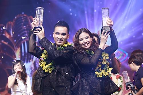 Hà Duy - Hoàng Yến đăng quang Cặp đôi hoàn hảo 2014-14
