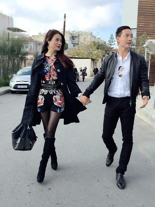 Trương Ngọc Ánh - Kim Lý nắm tay lãng mạn tại đảo Síp-1