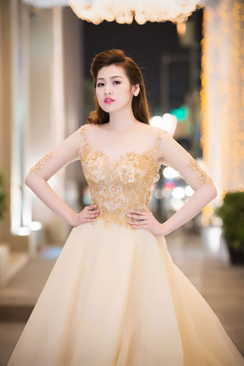 Thụy Vân, Dương Tú Anh xinh đẹp như công chúa-9