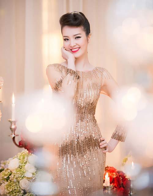Thụy Vân, Dương Tú Anh xinh đẹp như công chúa-2