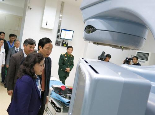 Thêm một trung tâm xạ trị ung thư hiện đại-1