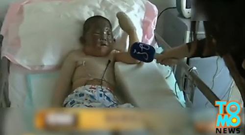 Cậu bé 6 tuổi lao vào nhà cháy để cứu ông nội-1