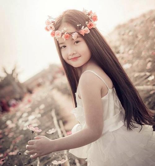 ve dep cua co be ha noi 6 tuoi giong angela phuong trinh - 2