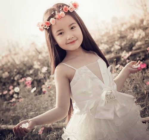 ve dep cua co be ha noi 6 tuoi giong angela phuong trinh - 7
