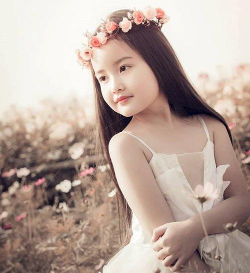 ve dep cua co be ha noi 6 tuoi giong angela phuong trinh - 5