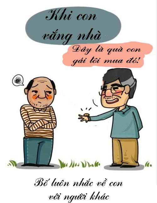 nghen ngao voi truyen tranh 'hay noi loi yeu thuong cha me' - 5