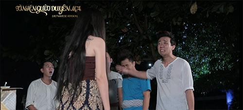 """truong thi may sanh buoc ben dao dien dung """"khung"""" - 14"""