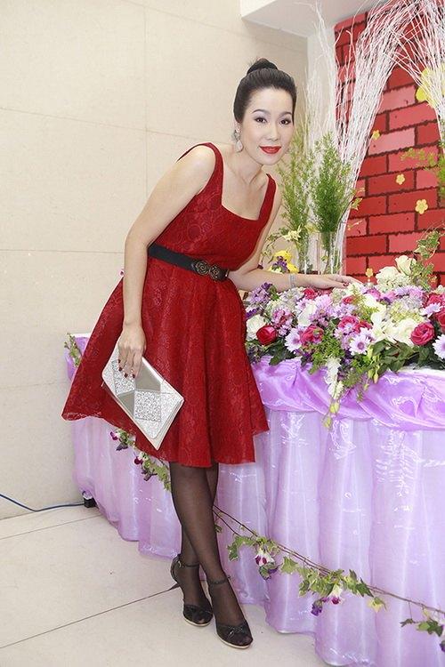 trinh kim chi dang mang bau lan hai 4 thang ruoi - 2