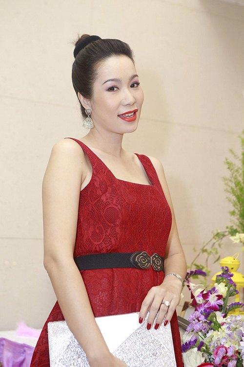 trinh kim chi dang mang bau lan hai 4 thang ruoi - 6