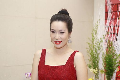 trinh kim chi dang mang bau lan hai 4 thang ruoi - 7