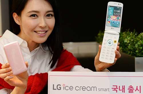 "lg ""hoai niem qua khu"" voi dien thoai nap gap ice cream smart - 4"