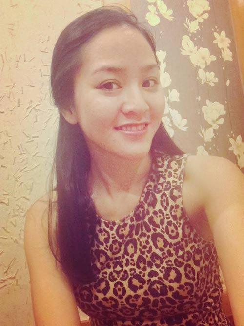 phan thi ly hanh phuc khoe bung bau 8 thang - 2