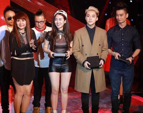 """the remix 2015"": son tung m-tp thua giong hat, thang tai nang - 2"