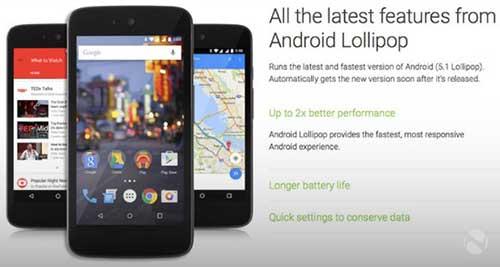 smartphone gia re cua google cai san android 5.1 - 1