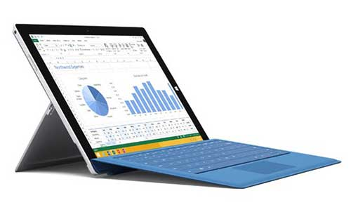 tablet surface pro 3 giam 100 usd - 1