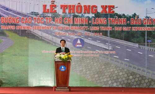 thu tuong phat lenh thong xe cao toc hien dai nhat vn - 1