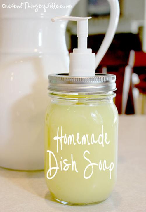 Tự làm nước rửa chén tại nhà bằng muối, giấm, chanh - 13
