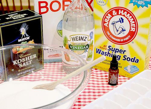 Tự làm nước rửa chén tại nhà bằng muối, giấm, chanh - 2