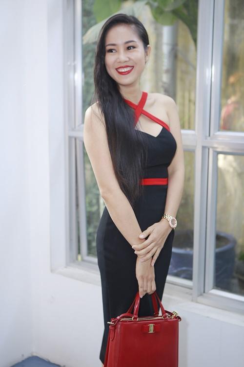 le phuong khong an tét nguyen dán cùng con trai - 1