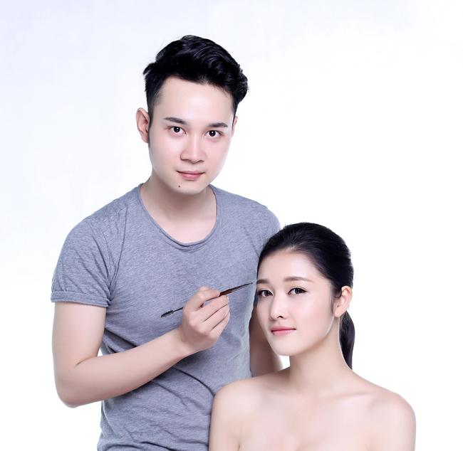Chuyên gia trang điểm Thịnh Nguyễn.