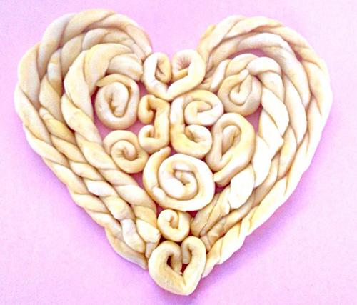 banh trai tim xinh cho valentine them lung linh - 5