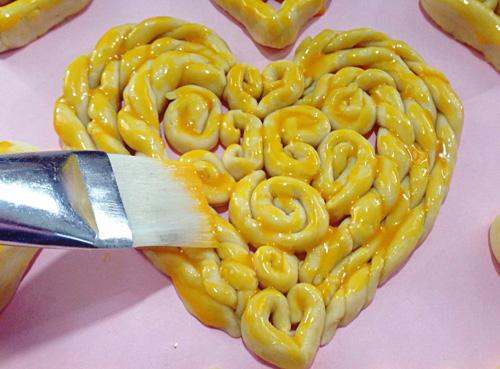 banh trai tim xinh cho valentine them lung linh - 9