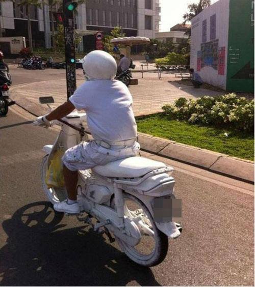 """cuoi te ghe voi nhung """"quai xe"""" duong pho viet - 11"""