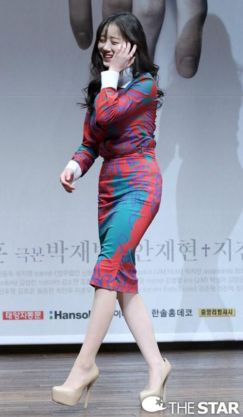 """minh tinh trai dat"" jeon ji hyun lo mat beo u - 8"