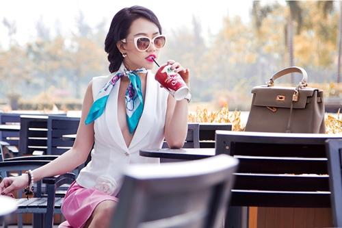 """goi y """"len do"""" cho co nang me street style tieu thu - 2"""