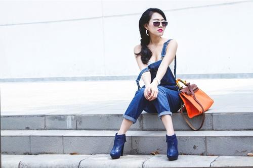 """goi y """"len do"""" cho co nang me street style tieu thu - 7"""