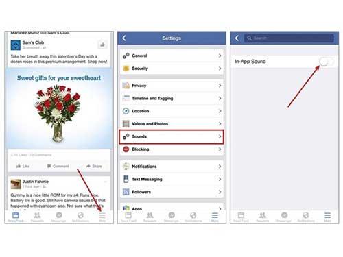 vo hieu hoa am thanh kho chiu tren ung dung facebook ios va android - 1