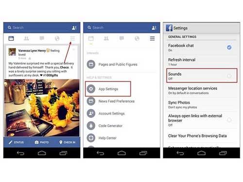 vo hieu hoa am thanh kho chiu tren ung dung facebook ios va android - 2