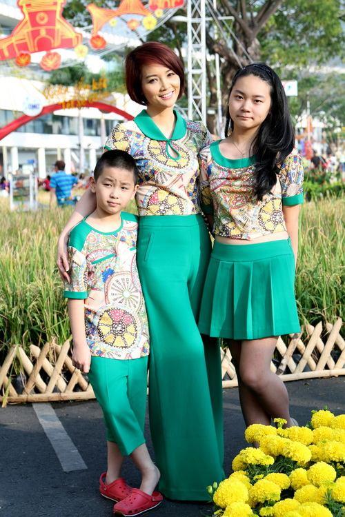 """mai thu huyen """"tron"""" chong dao pho xuan cung con - 2"""