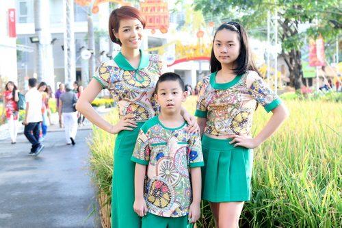 """mai thu huyen """"tron"""" chong dao pho xuan cung con - 3"""