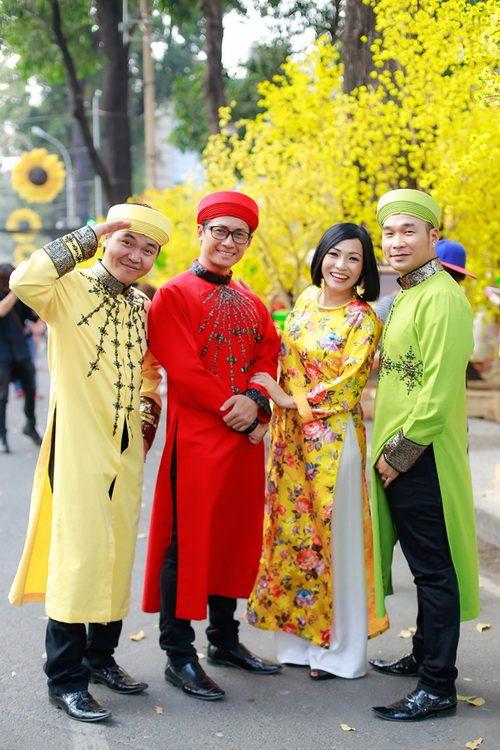 """phuong thanh mac ao dai lam """"pho nhay"""" cho nhom mtv - 9"""