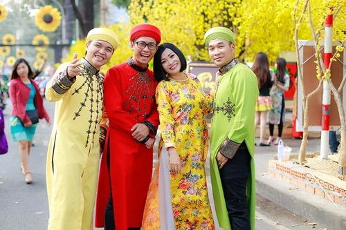 """phuong thanh mac ao dai lam """"pho nhay"""" cho nhom mtv - 10"""