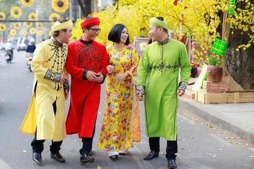 """phuong thanh mac ao dai lam """"pho nhay"""" cho nhom mtv - 11"""