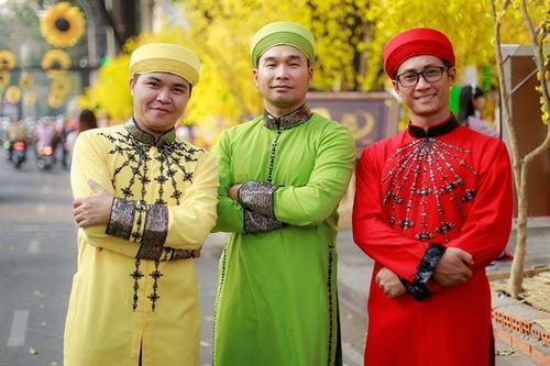 """phuong thanh mac ao dai lam """"pho nhay"""" cho nhom mtv - 19"""