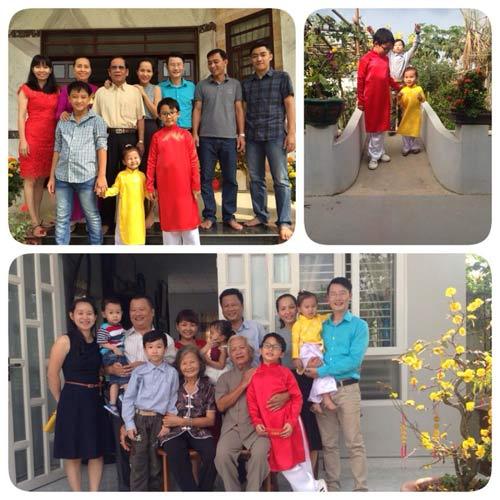 Angela Phương Trinh đón Tết cùng gia đình ở Long An-7