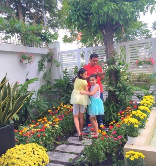Angela Phương Trinh đón Tết cùng gia đình ở Long An-11