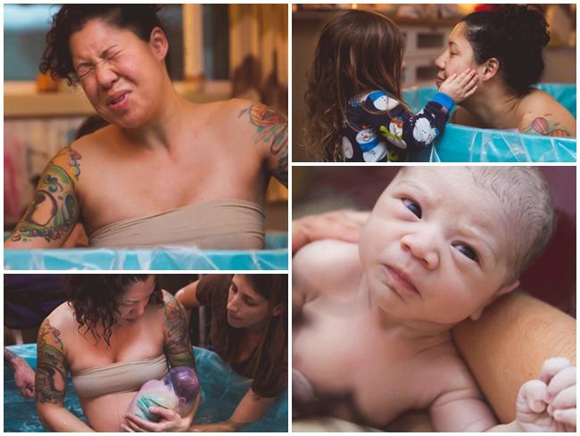 Ca sinh thường lần hai của mẹ Lisa, ở Santa Cruz, Mỹ đã trở nên vô cùng đặc biệt khi em bé được sinh ra còn nằm nguyên trong bọc nước ối. Em bé được đặt tên là Juniper với câu chuyện chào đời khiến nhiều người ngỡ ngàng.