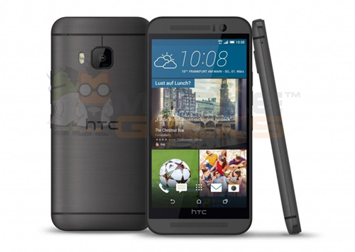 Ảnh chính thức HTC One (M9) bị lộ trước thềm ra mắt - 1