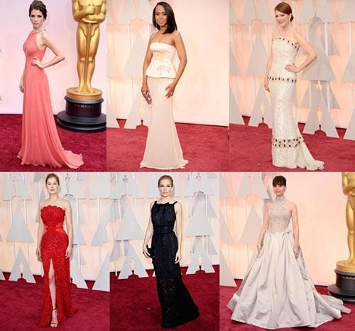 Dàn sao lộng lẫy trên thảm đỏ Oscar 2015-1