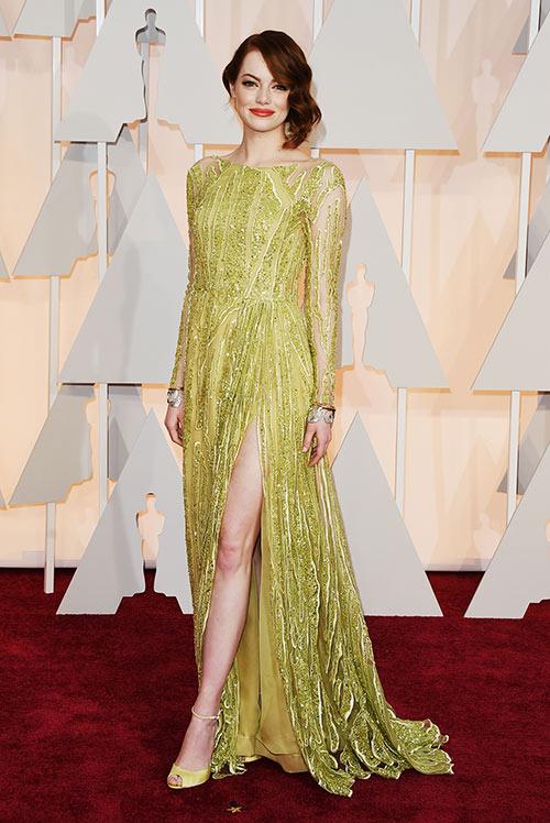 Lady Gaga hết quái, Jennifer Lopez khoe ngực trên thảm đỏ Oscars - 6
