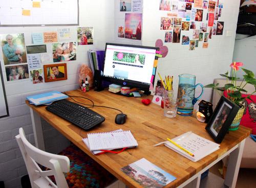 Hướng dẫn sắp xếp bàn làm việc theo phong thuỷ-3